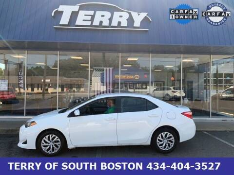 2019 Toyota Corolla for sale at Terry of South Boston in South Boston VA