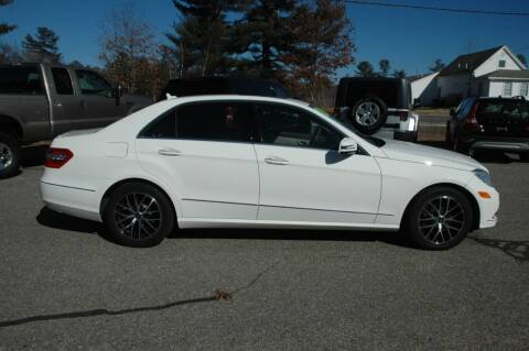 2013 Mercedes-Benz E-Class for sale at Bruce H Richardson Auto Sales in Windham NH