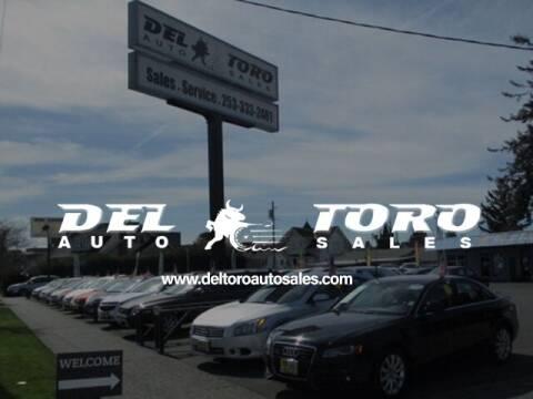 2016 Ford Fusion Hybrid for sale at DEL TORO AUTO SALES in Auburn WA
