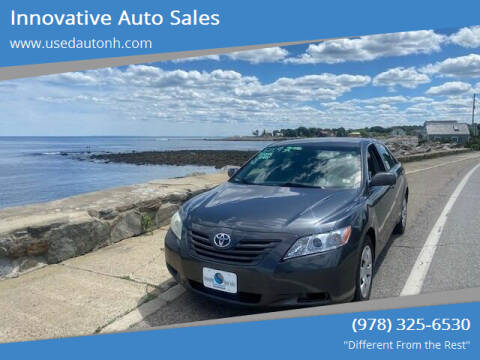2009 Toyota Camry for sale at Innovative Auto Sales in North Hampton NH