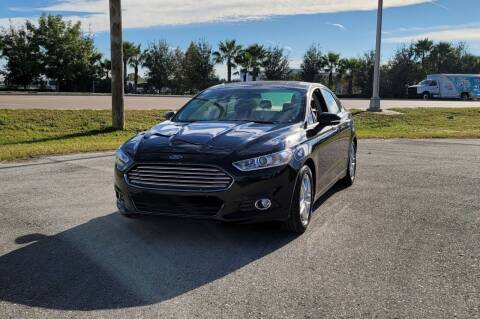 2016 Ford Fusion for sale at FLORIDA USED CARS INC in Fort Myers FL