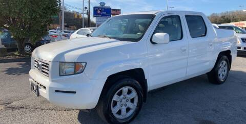 2006 Honda Ridgeline for sale at Stars Auto Finance in Nashville TN