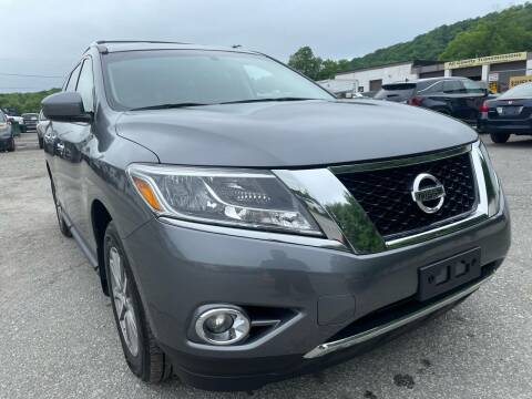 2015 Nissan Pathfinder for sale at Ron Motor Inc. in Wantage NJ