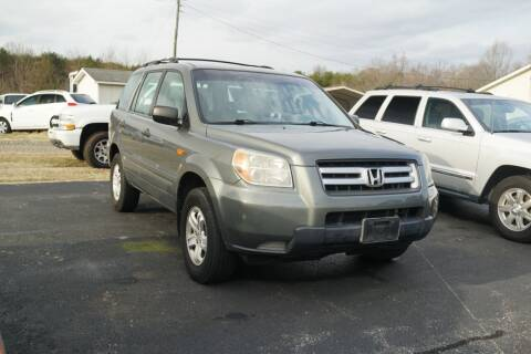 2007 Honda Pilot for sale at Herman's Motor Sales Inc in Hurt VA