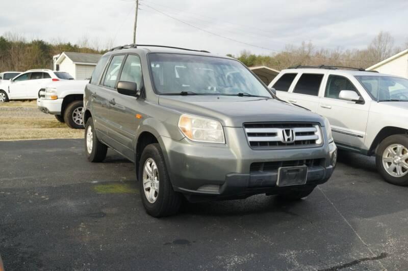2007 Honda Pilot for sale at Herman's Motor Sales Inc in Hurt VA