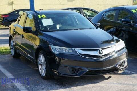 2016 Acura ILX for sale at Michael's Auto Sales Corp in Hollywood FL