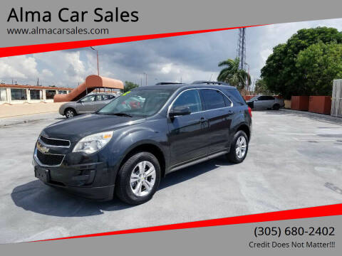 2012 Chevrolet Equinox for sale at Alma Car Sales in Miami FL