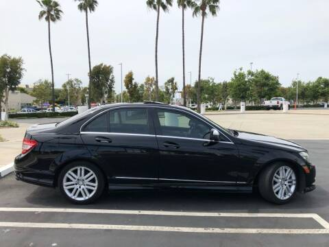 2009 Mercedes-Benz C-Class for sale at AllanteAuto.com in Santa Ana CA