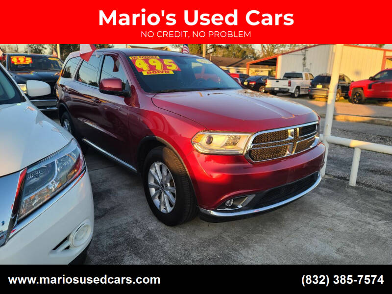 2014 Dodge Durango for sale at Mario's Used Cars - South Houston Location in South Houston TX