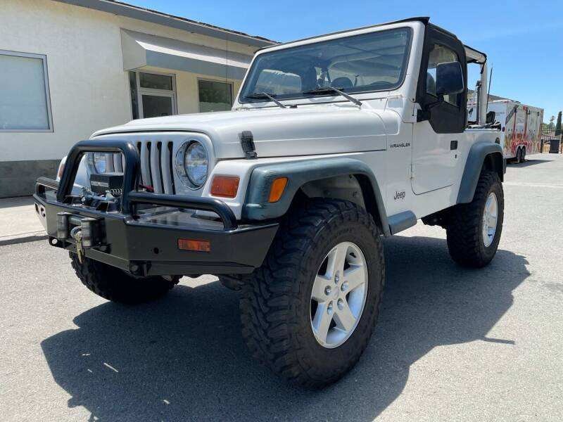 1997 Jeep Wrangler for sale at 707 Motors in Fairfield CA