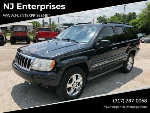 2004 Jeep Grand Cherokee for sale at NJ Enterprises in Indianapolis IN