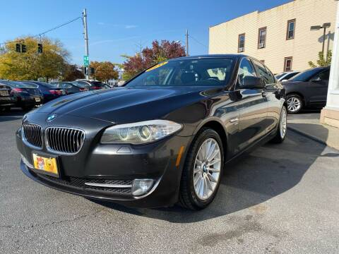 2011 BMW 5 Series for sale at ADAM AUTO AGENCY in Rensselaer NY