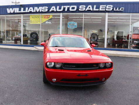 2014 Dodge Challenger for sale at Williams Auto Sales, LLC in Cookeville TN
