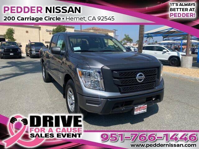 2021 Nissan Titan for sale in Hemet, CA
