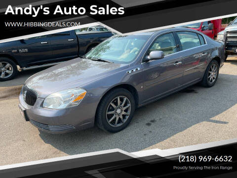 2007 Buick Lucerne for sale at Andy's Auto Sales in Hibbing MN