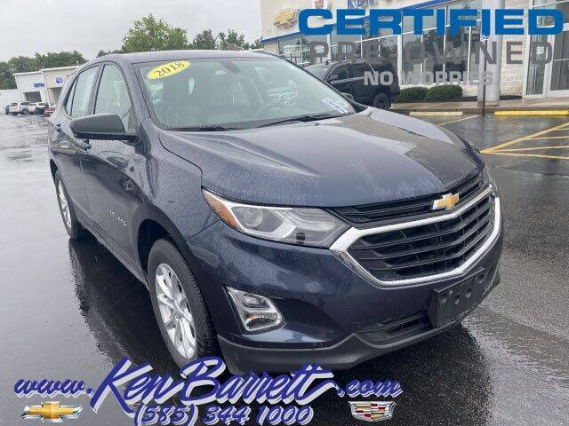 2018 Chevrolet Equinox for sale at KEN BARRETT CHEVROLET CADILLAC in Batavia NY