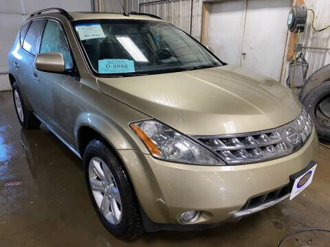 2006 Nissan Murano for sale at BERG AUTO MALL & TRUCKING INC in Beresford SD