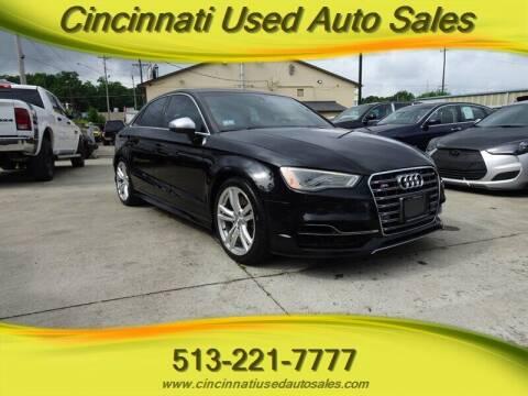 2016 Audi S3 for sale at Cincinnati Used Auto Sales in Cincinnati OH