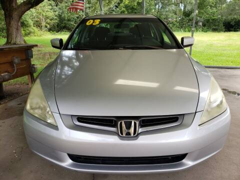 2003 Honda Accord for sale at Darwin Harris Automotive in Fairhope AL