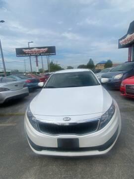 2013 Kia Optima for sale at Washington Auto Group in Waukegan IL