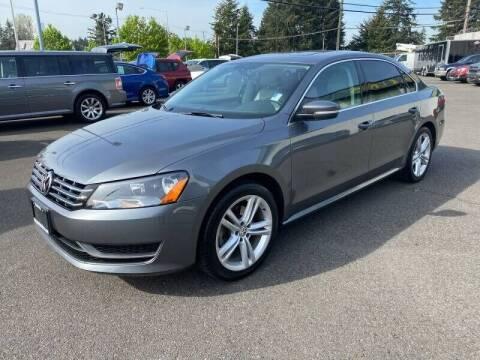 2015 Volkswagen Passat for sale at TacomaAutoLoans.com in Lakewood WA