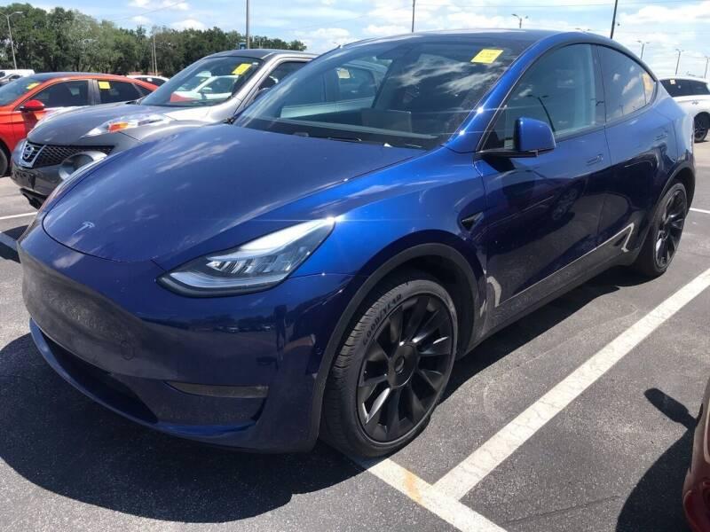 2020 Tesla Model Y for sale at Florida Coach Trader Inc in Tampa FL