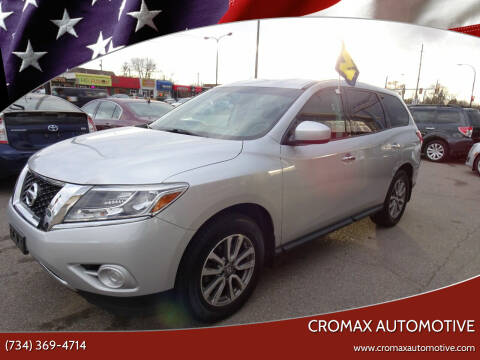 2013 Nissan Pathfinder for sale at Cromax Automotive in Ann Arbor MI