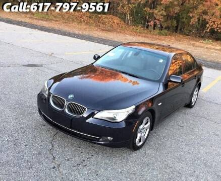 2008 BMW 5 Series for sale at Wheeler Dealer Inc. in Acton MA