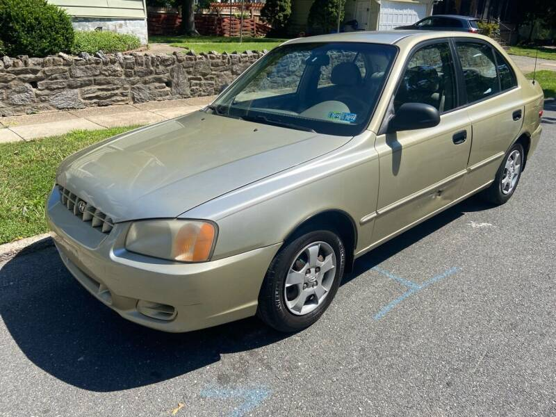 2002 Hyundai Accent for sale at Michaels Used Cars Inc. in East Lansdowne PA