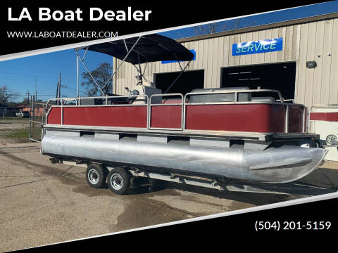 2002 Pontoon Sun Tracker 21 Party Barge for sale at LA Boat Dealer - Pontoon Boats in Metairie LA