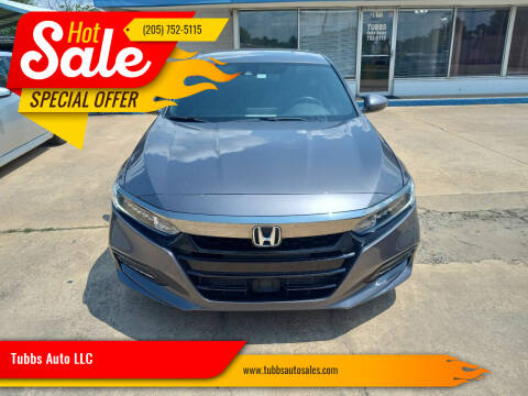 2018 Honda Accord for sale at Tubbs Auto LLC in Tuscaloosa AL