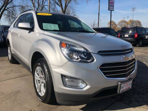 2017 Chevrolet Equinox for sale at Direct Auto Sales in Milwaukee WI