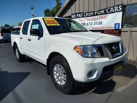 2014 Nissan Frontier for sale at Devine Auto Sales in Modesto CA