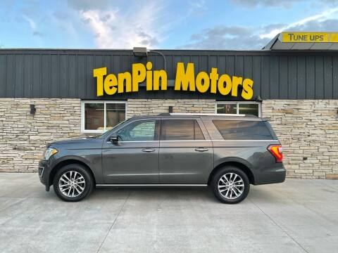 2018 Ford Expedition MAX for sale at TenPin Motors LLC in Fort Atkinson WI