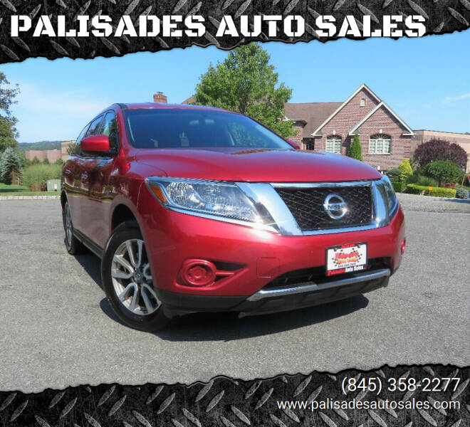 2014 Nissan Pathfinder for sale at PALISADES AUTO SALES in Nyack NY