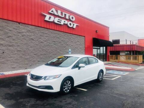 2015 Honda Civic for sale at Auto Depot of Smyrna in Smyrna TN