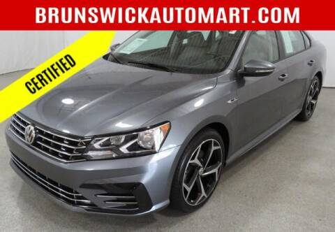 2018 Volkswagen Passat for sale at Brunswick Auto Mart in Brunswick OH