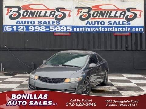 2011 Honda Civic for sale at Bonillas Auto Sales in Austin TX