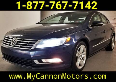 2013 Volkswagen CC for sale at Cannon Motors in Silverdale PA
