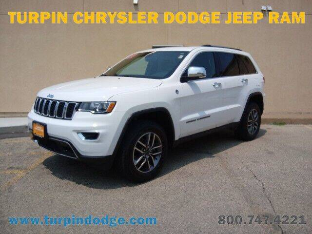 2020 Jeep Grand Cherokee for sale at Turpin Dodge Chrysler Jeep Ram in Dubuque IA
