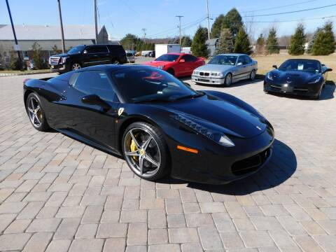 2014 Ferrari 458 Spider for sale at Shedlock Motor Cars LLC in Warren NJ