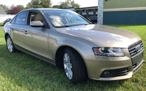 2011 Audi A4 for sale at Auto Trader Wholesale Inc in Saddle Brook NJ