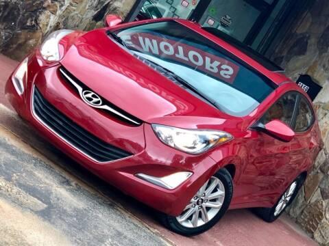 2015 Hyundai Elantra for sale at Atlanta Prestige Motors in Decatur GA