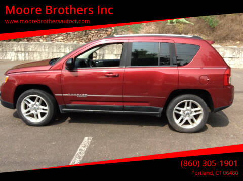 2011 Jeep Compass for sale at Moore Brothers Inc in Portland CT