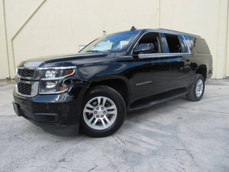 2018 Chevrolet Suburban for sale at Easy Deal Auto Brokers in Hollywood FL