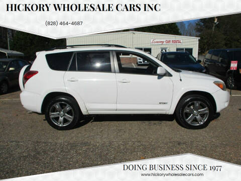 2008 Toyota RAV4 for sale at Hickory Wholesale Cars Inc in Newton NC