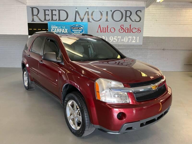 2007 Chevrolet Equinox for sale at REED MOTORS LLC in Phoenix AZ