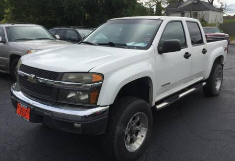 2005 Chevrolet Colorado for sale at Knowlton Motors, Inc. in Freeport IL