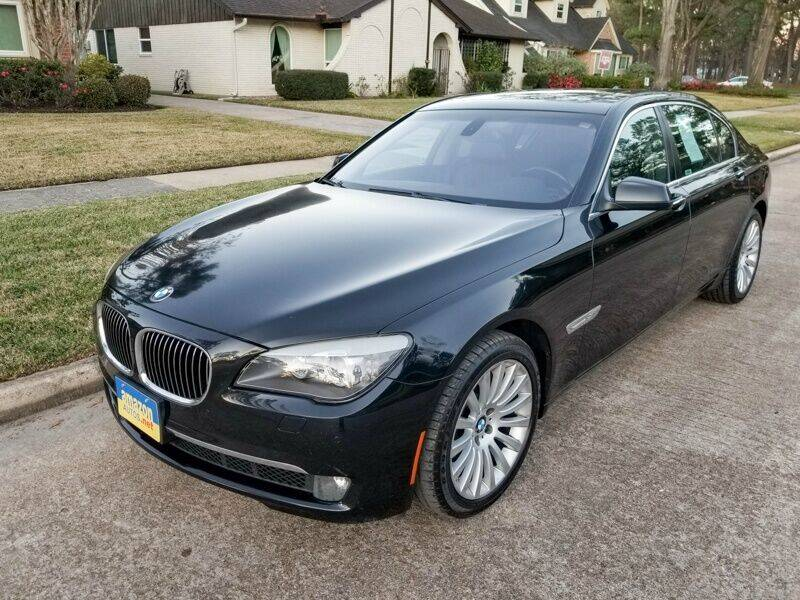 2012 BMW 7 Series for sale at Amazon Autos in Houston TX