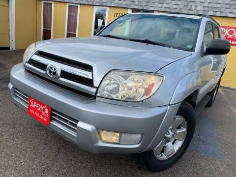 2005 Toyota 4Runner for sale at Superior Auto Sales, LLC in Wheat Ridge CO